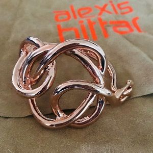 Alexis Bittar Rose Gold Cutf Bracelet Perfect